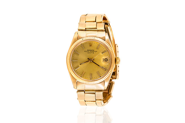 Rolex Oyster Perpetual Date Ladies' Watch Front View