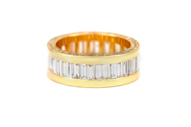 Chanel Set Diamonds Gold Wedding Band