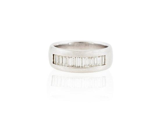 Diamond Platinum Men Ring