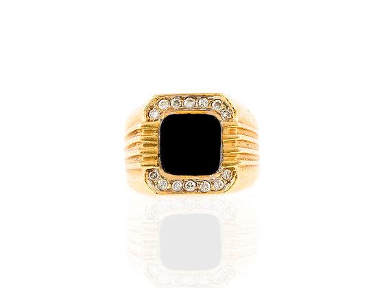 Onyx Men Ring