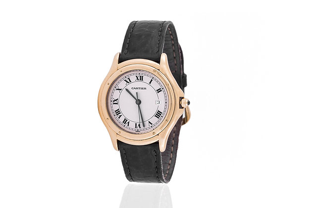 Cartier Cougar Watch front