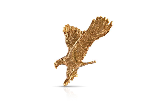 Eagle Brooch Front View