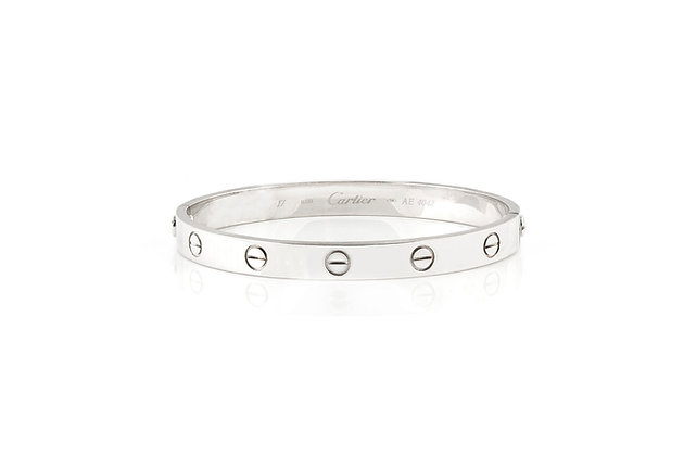 Cartier LOVE Bracelet Front View
