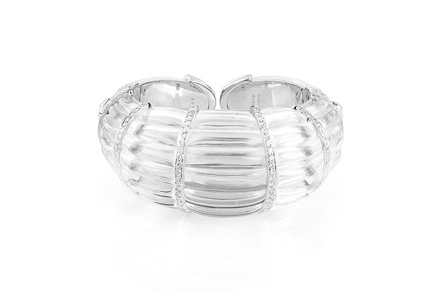 The Hutton Cuff Bracelet By David Webb Front View