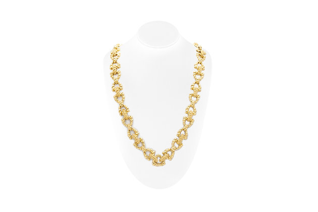 French Wander Yellow Gold Necklace