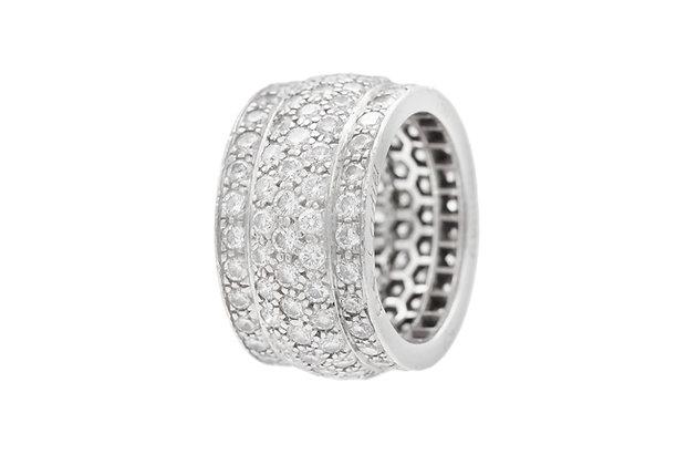 Cartier Nigeria Diamonds Ring in 18k White Gold