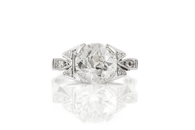 Antique Engagement Ring front view