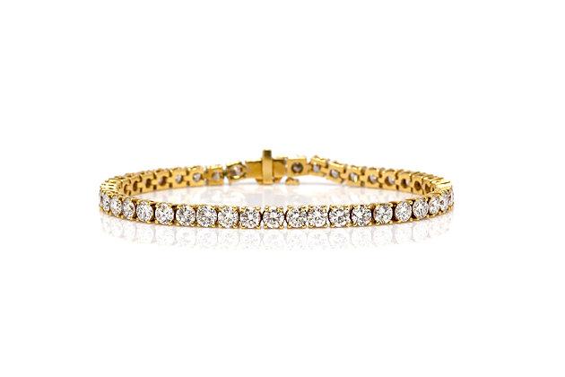 9.00 Diamond Tennis Bracelet Front View