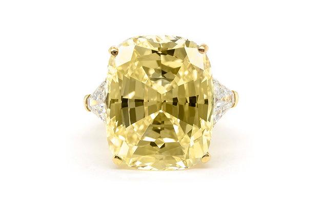 Van Cleef & Arpels Fancy Yellow Diamond Ring