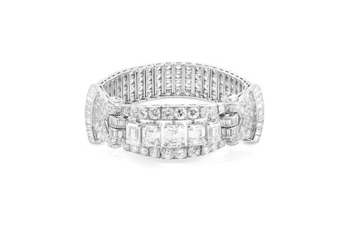 htm diamond bracelet deco platinum carat art p