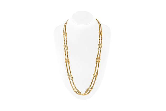 Beautiful Gold Chain Front View