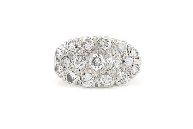 1.10 Carat Diamond Ring top view