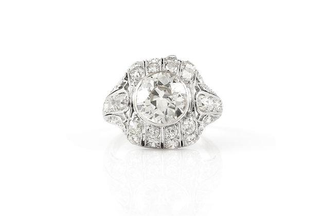 2.25 ct Diamond Ring front