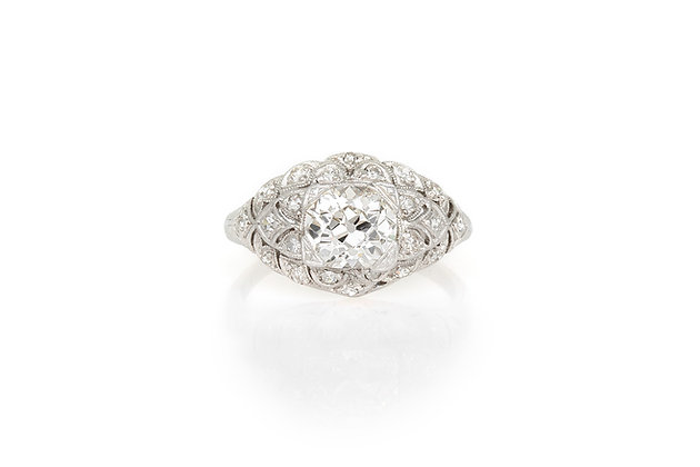 1.24 Carat Edwardian Engagement ring