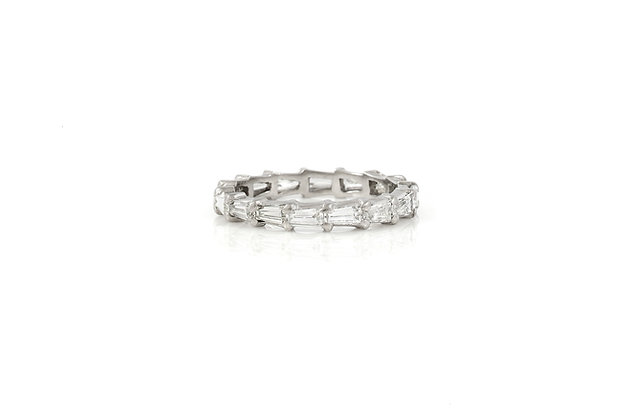 Antique Wedding Band front view