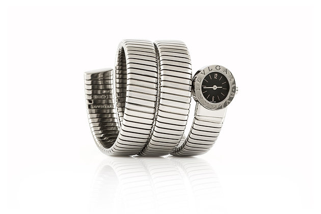 Bvlgari Tubogas Watch Front View