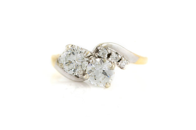 1.50 Carat Diamond Engagement Ring top view