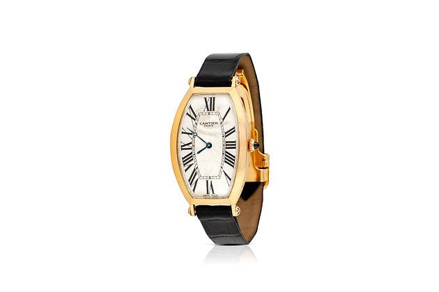 Cartier Tonneau Wrist Watch angle view