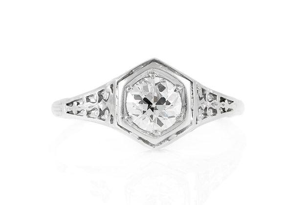 0.75 Carat Edwardian Engagement Ring
