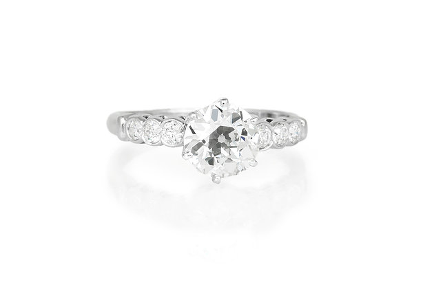 1.25 Carat Antique Engagement Ring