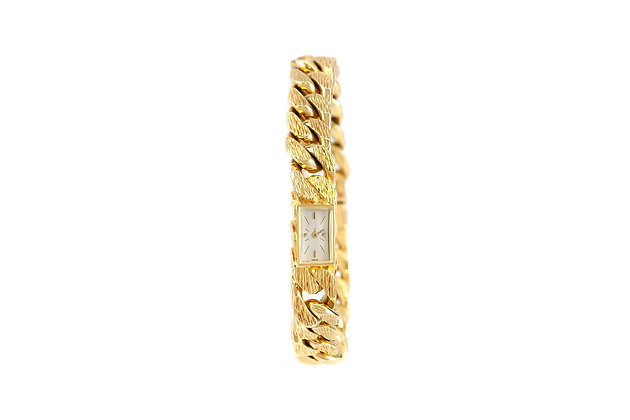 Vacheron Constantin 18 Carat Gold Link Chain Watch front