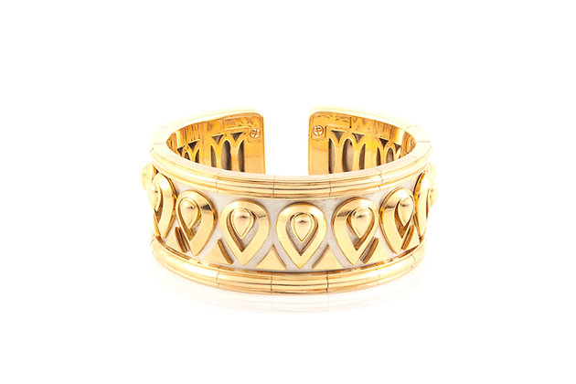 Cartier Gold Wide Cuff