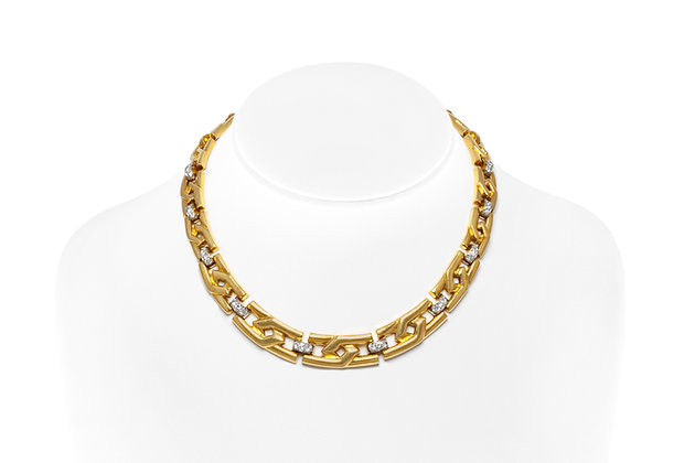 David Webb Collar Necklace Front View