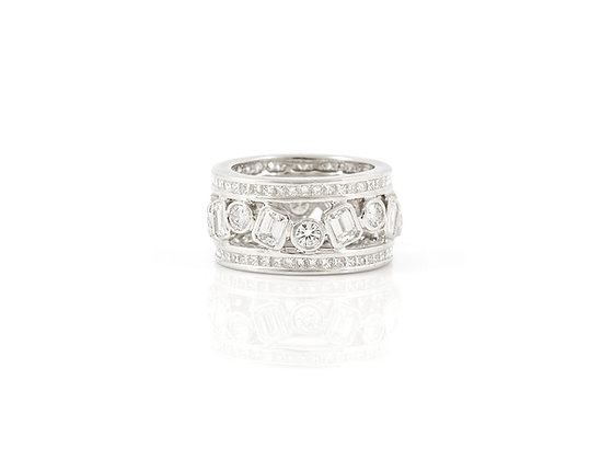 Eternity Wedding Band front view