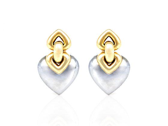 Bvlgari Hematite Earrings