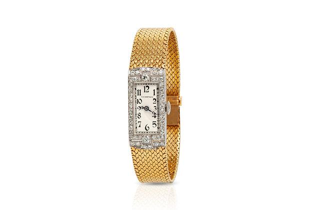 Tiffany & Co. Diamond Watch Front View