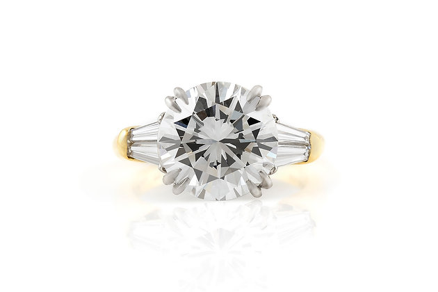 Harry Winston Engagement Ring front