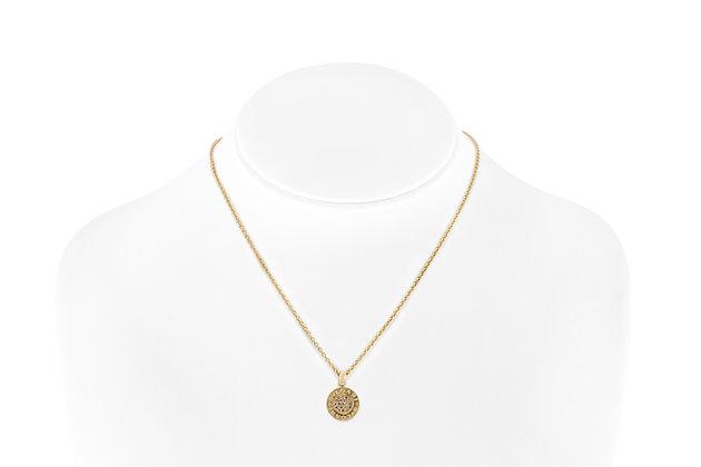 Bvlgari 18K Gold Modern Diamond Necklace