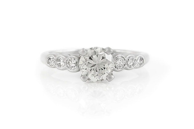 1.08 Carat Vintage Engagement Ring
