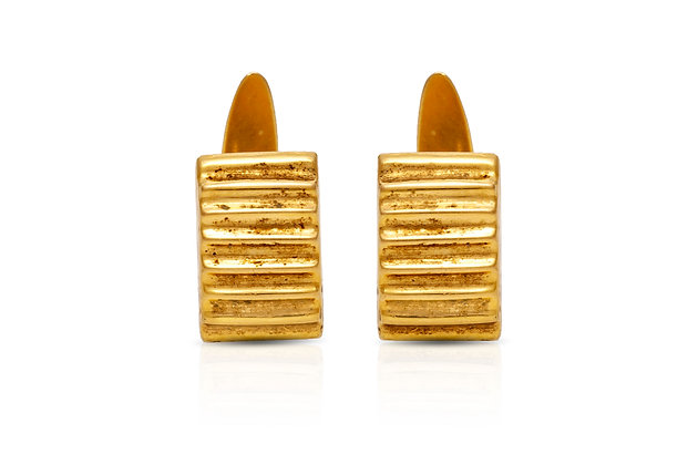 Rectangle Cufflinks Front View