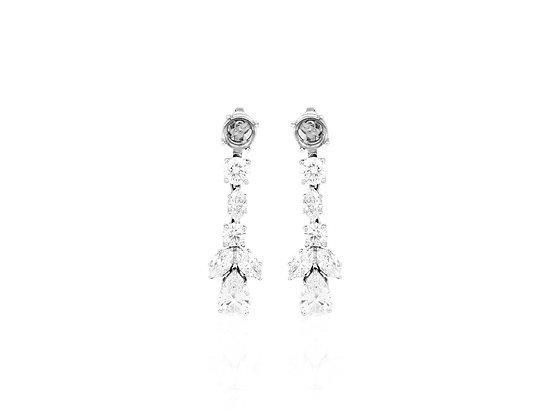 Graff Jackets Diamond Earrings front view