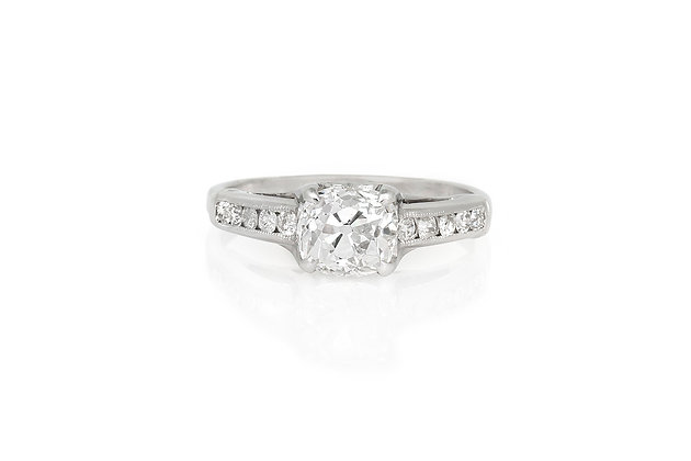 1.47 Carat Art Deco Engagement Ring
