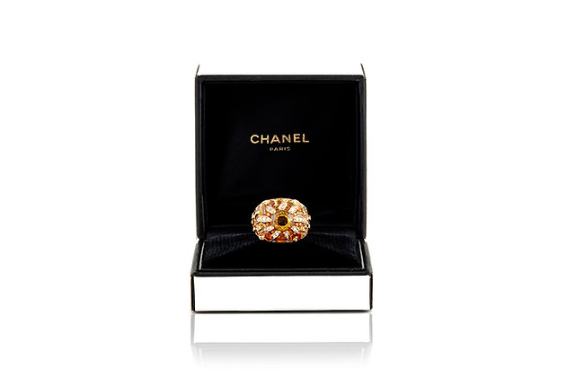 Chanel Baroque Sapphire Diamond Sun Ring