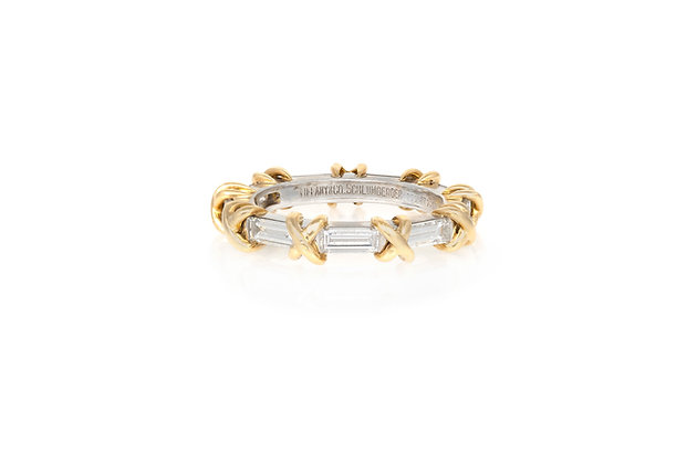 Tiffany & Co. Eternity Band front view