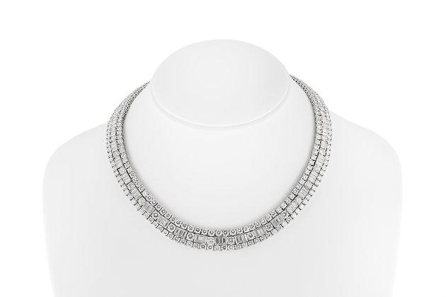 David Webb Diamond Necklace front