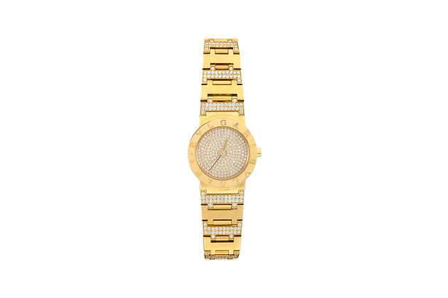 Bvlgari Unisex Diamond Watch