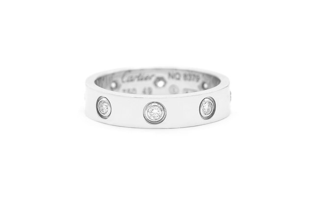Cartier Love Ring with 8 Diamonds