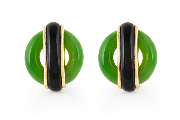 Cartier Aldo Cipullo Earrings Front View