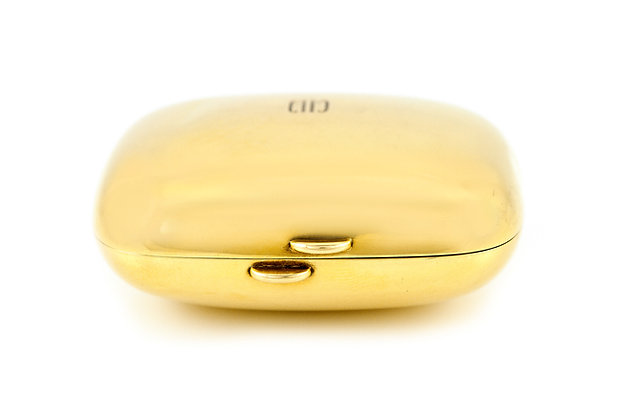 Tiffany & Co. Gold Compact front