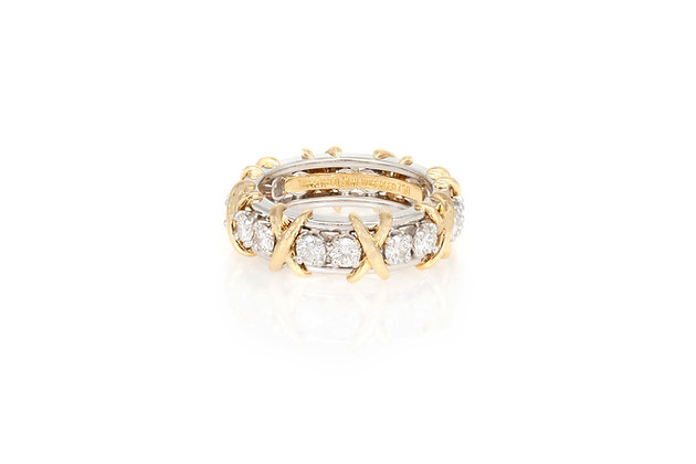 Tiffany & Co. Schlumberger Sixteen Stone Ring