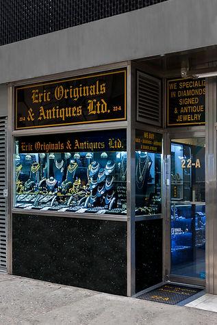 Our store at 22A W 47th St, NY, NY 10036