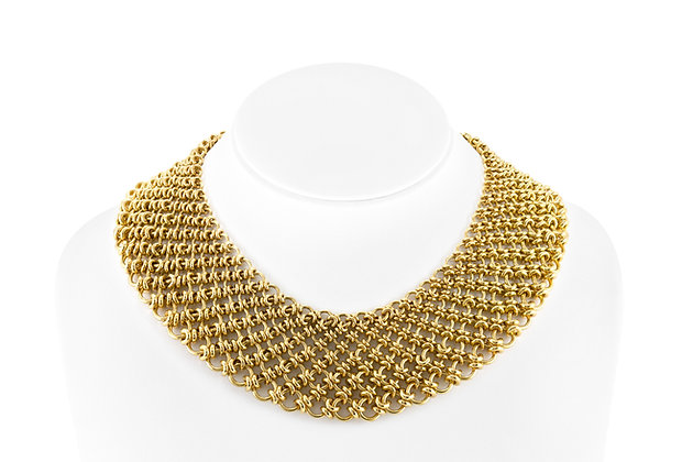 Tiffany & Co. Paloma Picasso Gold Bib Necklace