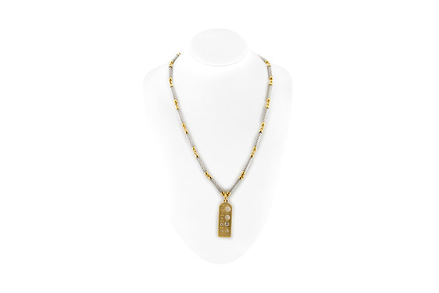 Fred Paris Necklace with Diamonds front