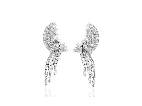 Diamond Earrings front