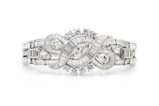 25.00 Carat Diamond Bracelet