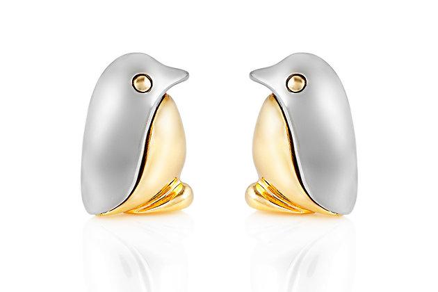 Bvlgari Penguin Cufflinks Front View